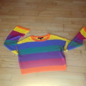 Tops - 🆕 PRIDE FEST Colorful Spring Knit Sweater! 🏳️🌈